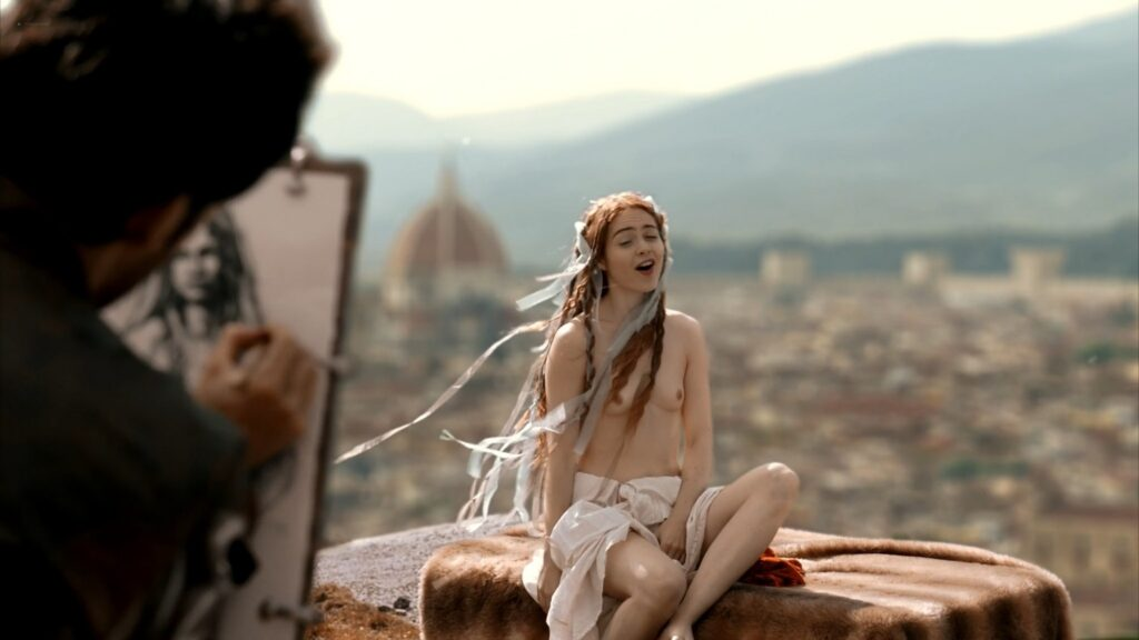 Hera Hilmar nude sex Sarah Ball nude Da Vincis Demons 2013 S1 1080p BluRay 5