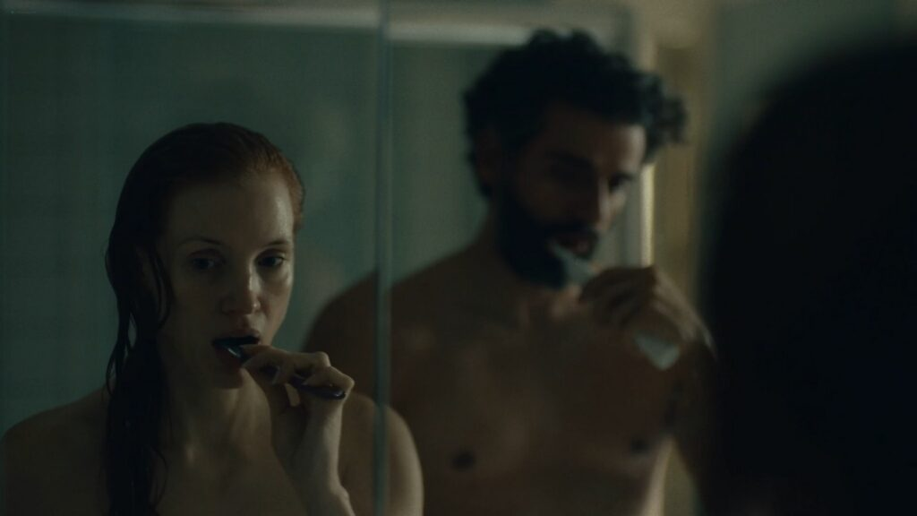 Jessica Chastain nude butt bush and side boob in the shower Scenes From a Marriage 2021 s1e2 1080p WEB 18