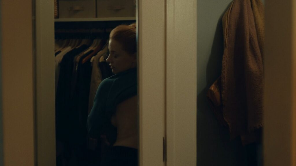 Jessica Chastain nude butt bush and side boob in the shower Scenes From a Marriage 2021 s1e2 1080p WEB 3