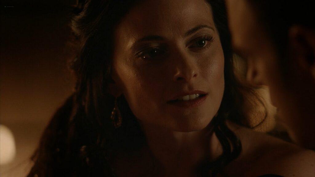 Lara Pulver nude sex Da Vincis Demons 2013 S1 1080p BluRay