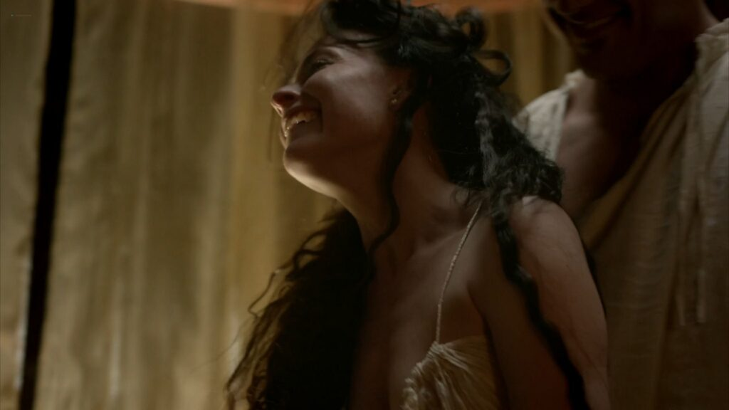Lara Pulver nude sex Da Vincis Demons 2013 S1 1080p BluRay 11