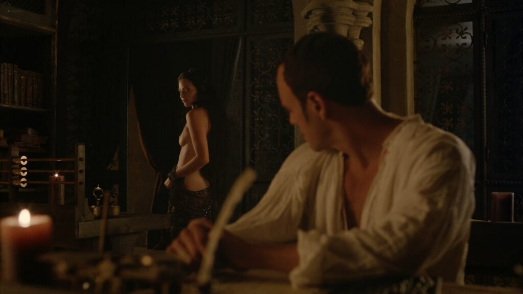 Lara Pulver nude sex Da Vincis Demons 2013 S1 1080p BluRay 2