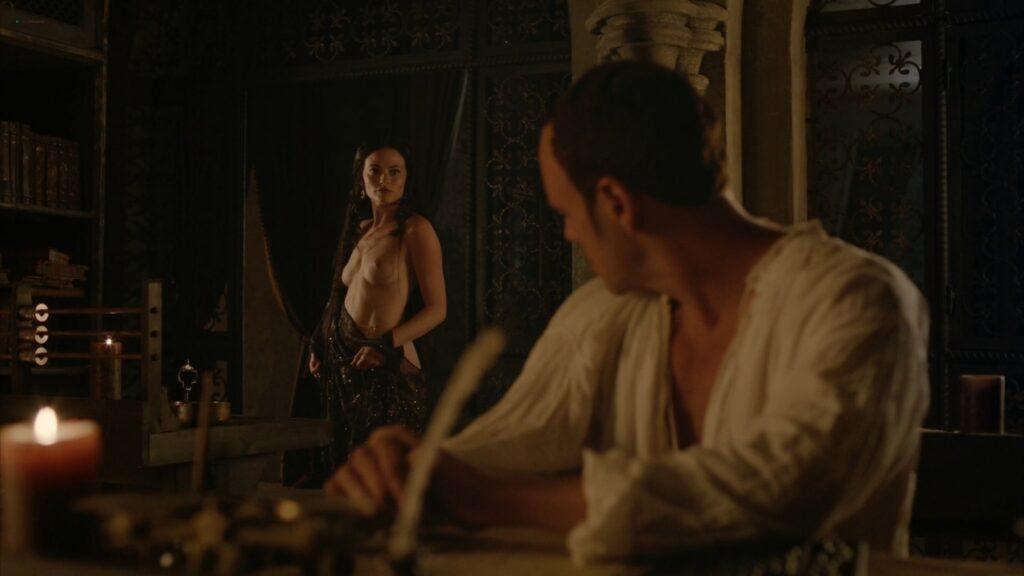 Lara Pulver nude sex Da Vincis Demons 2013 S1 1080p BluRay 3