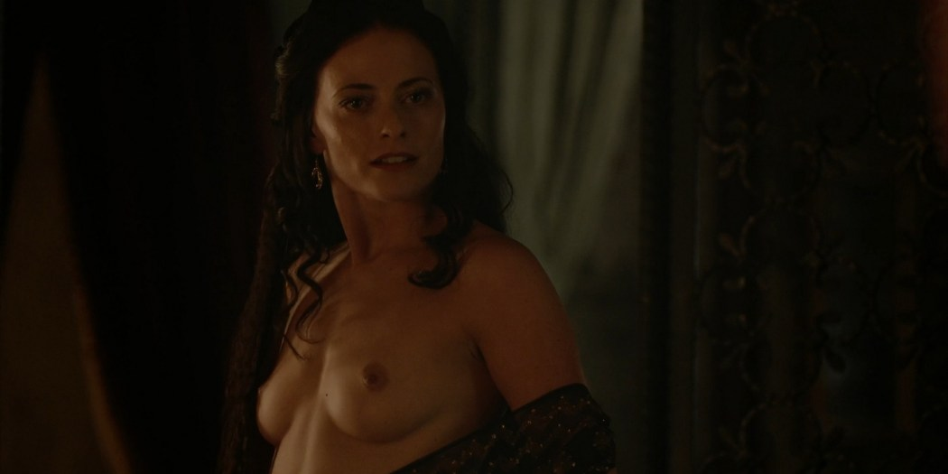 Lara Pulver nude sex Da Vincis Demons 2013 S1 1080p BluRay 4