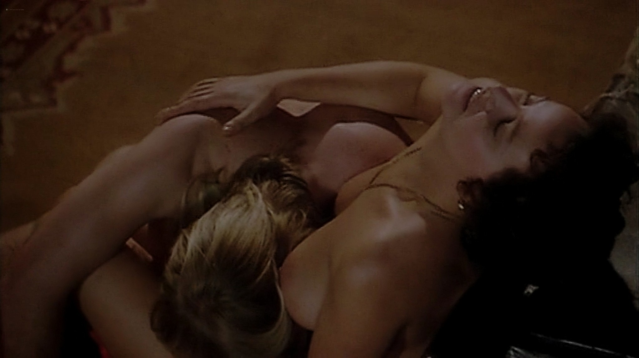 Laura Antonelli nude topless and sex Monica Guerritore nude topless and Clelia Rondinella nude lesbian sex La Venexiana 1986 DVDRip 10