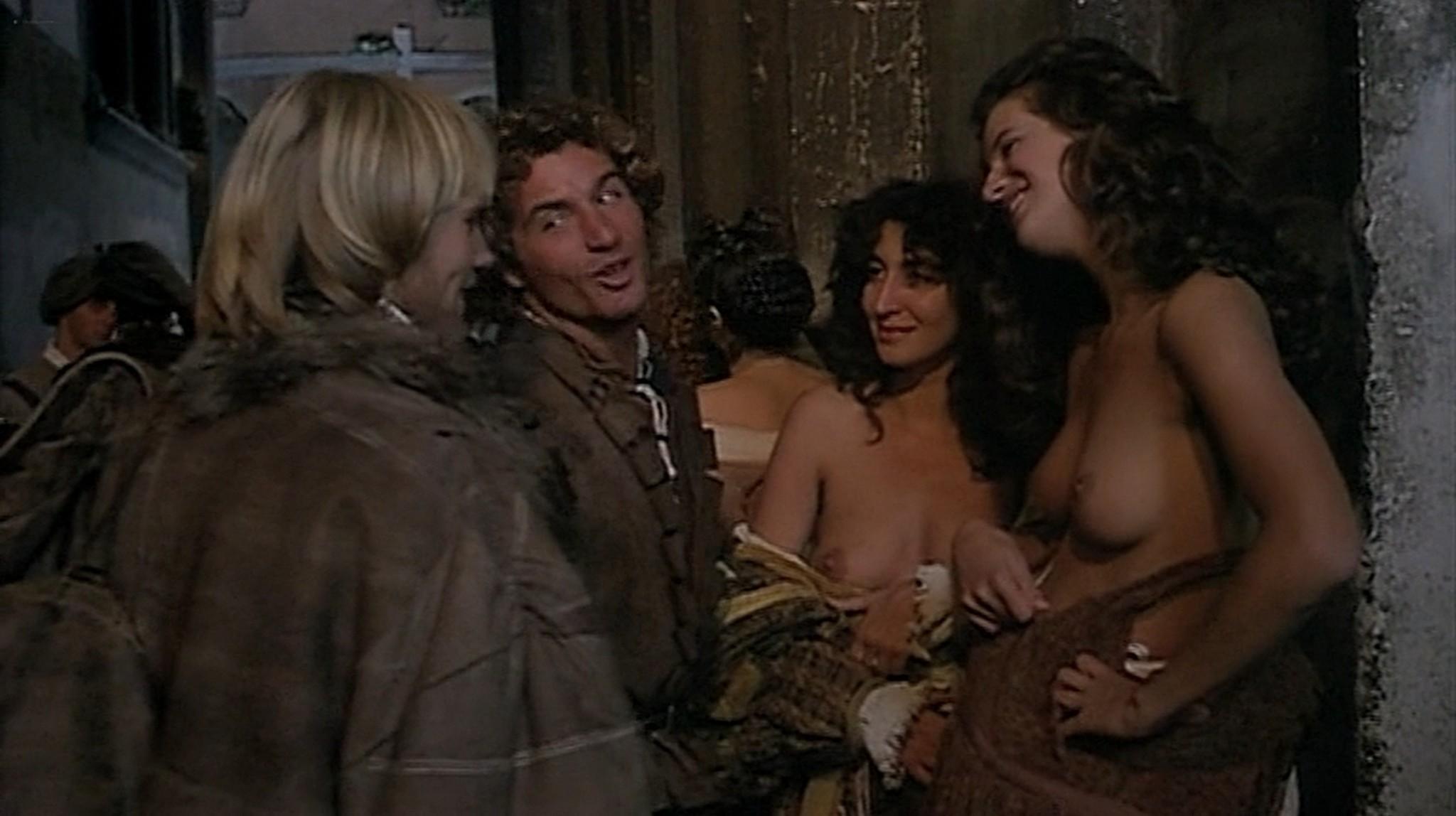 Laura Antonelli nude topless and sex Monica Guerritore nude topless and Clelia Rondinella nude lesbian sex La Venexiana 1986 DVDRip 2