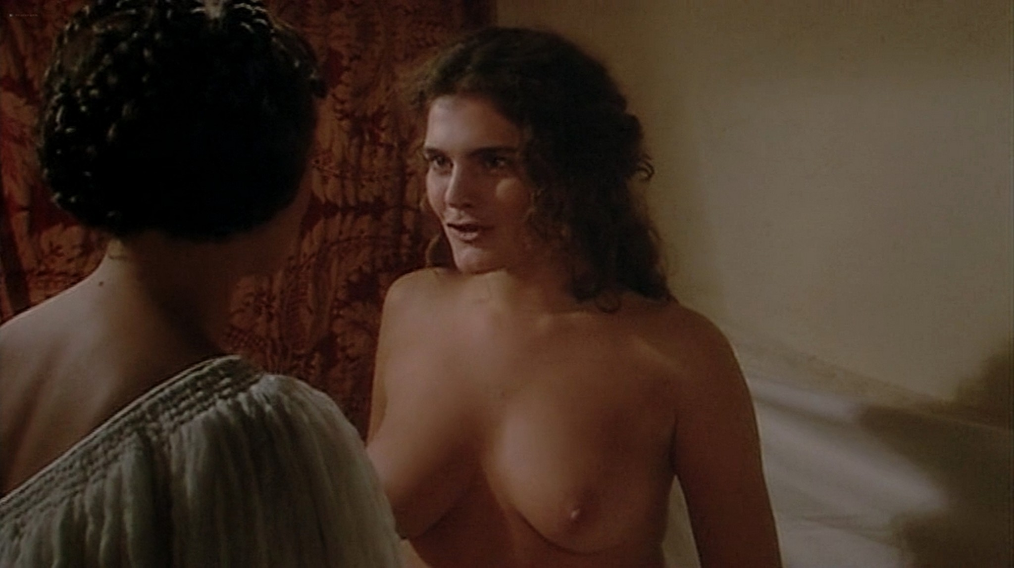 Laura Antonelli nude topless and sex Monica Guerritore nude topless and Clelia Rondinella nude lesbian sex La Venexiana 1986 DVDRip 4