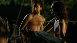 Laura Haddock nude Dilan Gwyn, Estella Daniels, nude sex - Da Vinci's Demons (2014) S2 1080p BluRay