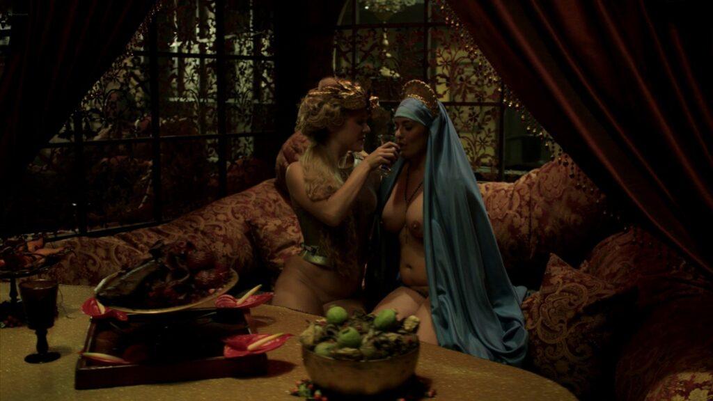 Laura Haddock nude Lara Pulver Hera Hilmar sexy others nude Da Vincis Demons 2014 S3 1080p BluRay 4