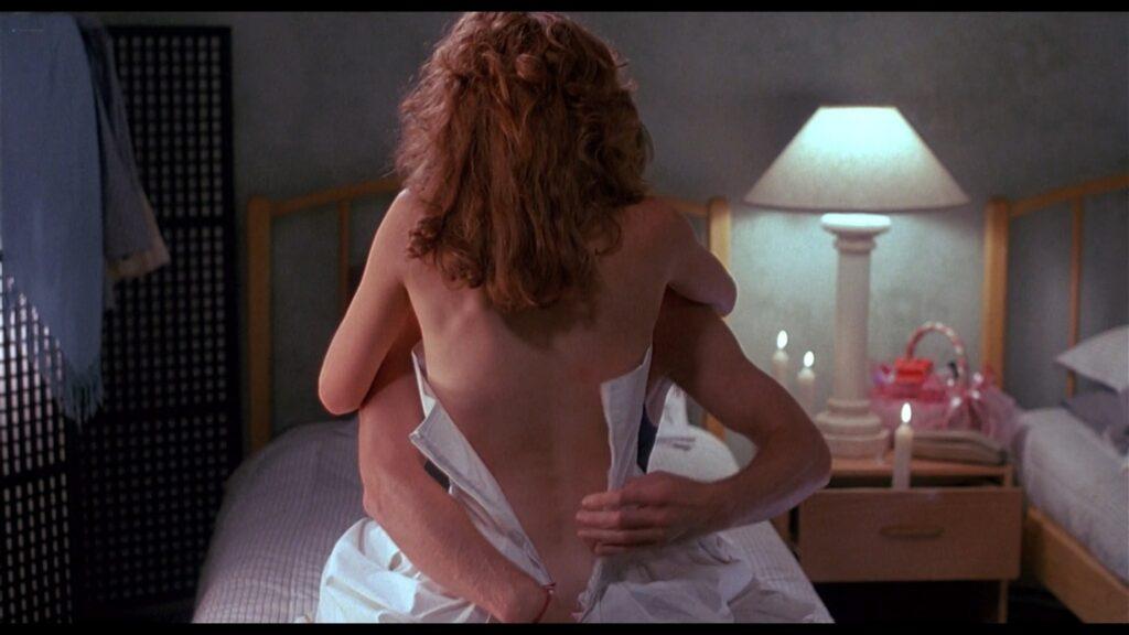 Lea Thompson nude butt and Victoria Jackson nude too Casual Sex 1988 HD 1080p BluRay 15