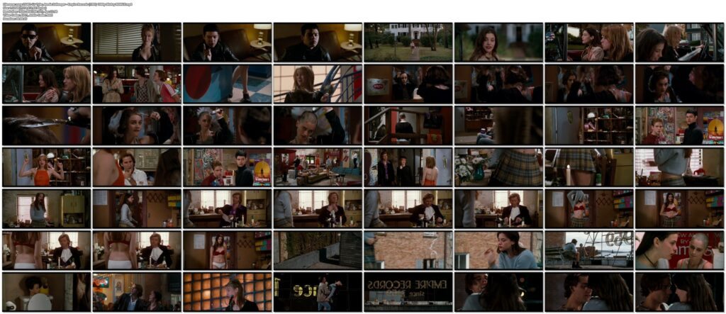 Liv Tyler hot striping to bra and undies and Renee Zellweger hot Empire Records 1995 1080p BluRay REMUX 43