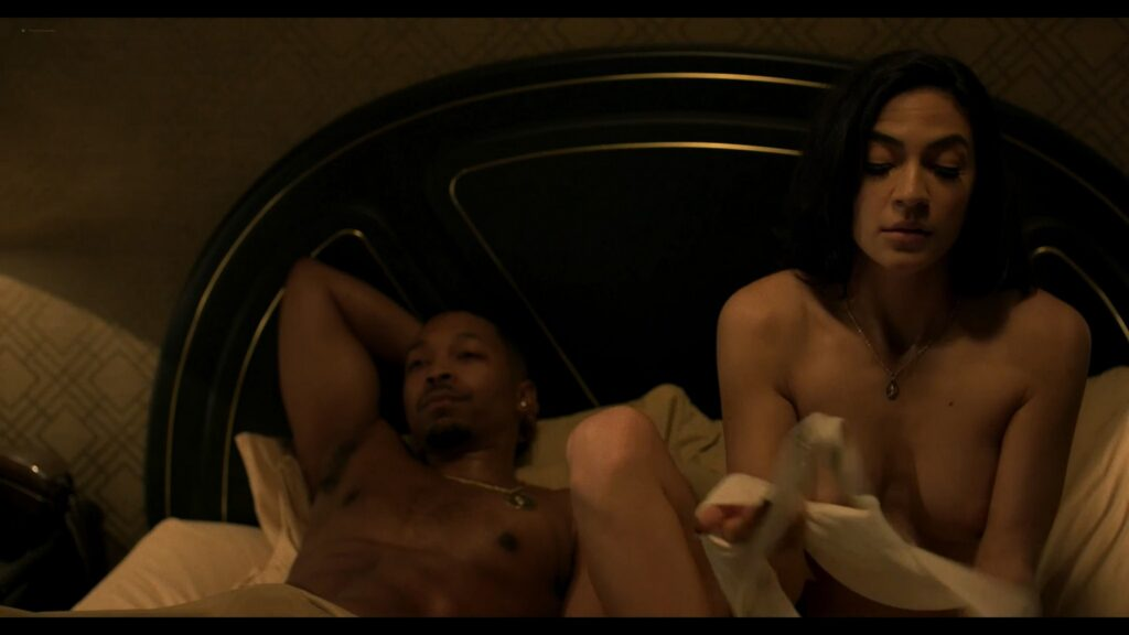 Natalee Linez nude topless Annalynne McCord sex doggy style Power Book III Raising Kanan 2021 s1e8 1080p Web 2