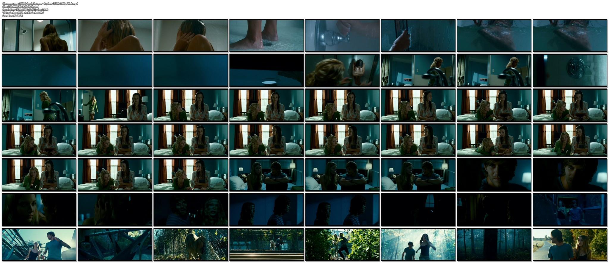 Sarah Roemer nude in the shower Asylum 2008 HD 1080p Web 19