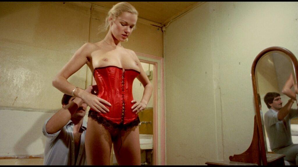 Brigitte Lahaie nude full frontal Karine Gambier nude labia others nudee too Caged Women 1980 1080p BluRay 4