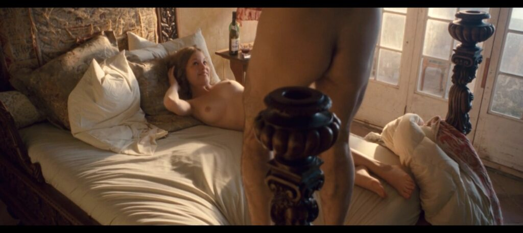Capucine Delaby nude topless and sex Gerry 2011 HD 1080p 8