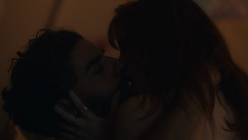 Jessica Chastain nude side boob sex and see through – Scenes From a Marriage 2021 s1e5 1080p 4