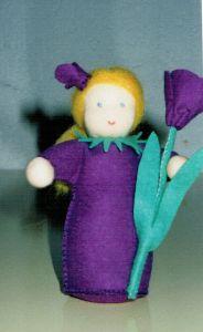 Bloemenmeisje Krokus