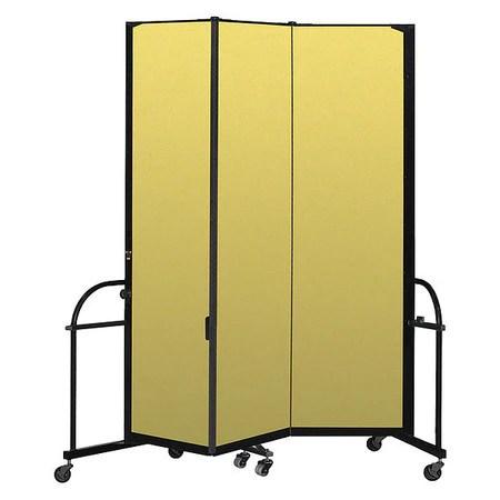 heavy duty room divider 3 panel 7 ft 4