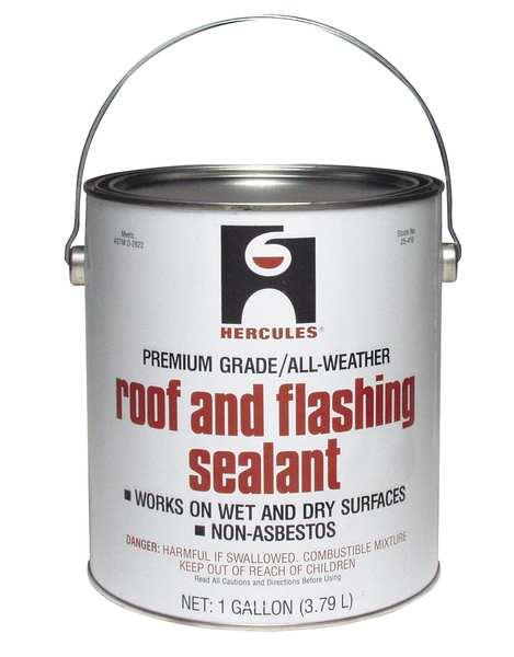 bor roofing hercules roof flashing sealant black 1 gal 25410 zoro com