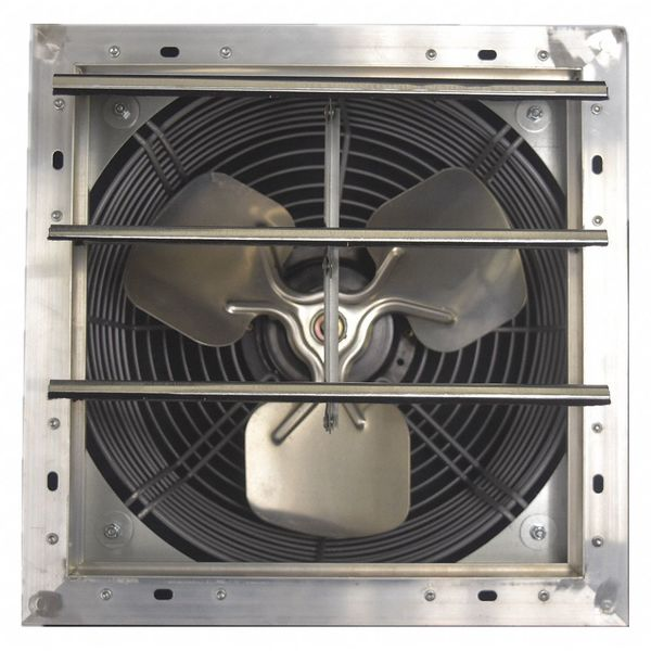 shutter mount exhaust fan 12 variable speed 28285 cfm