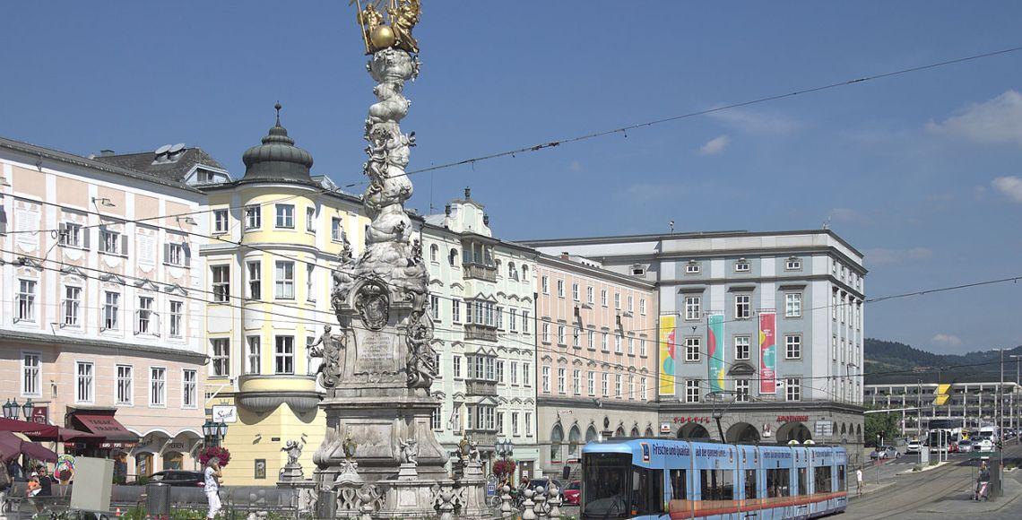 Praça principal de Linz | Foto: Darkweasel94/CC
