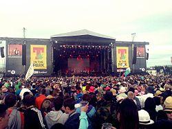 O T In the Park é o maior festival da Escócia | Foto: Wikipedia