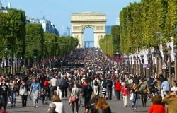 Champs-Élysées, em Paris