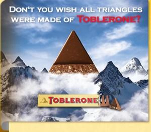 Teaser do Toblerone