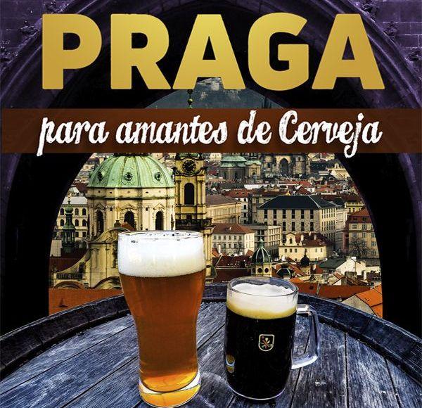 """Capa do e-book """"Praga para amantes de cerveja"""""""