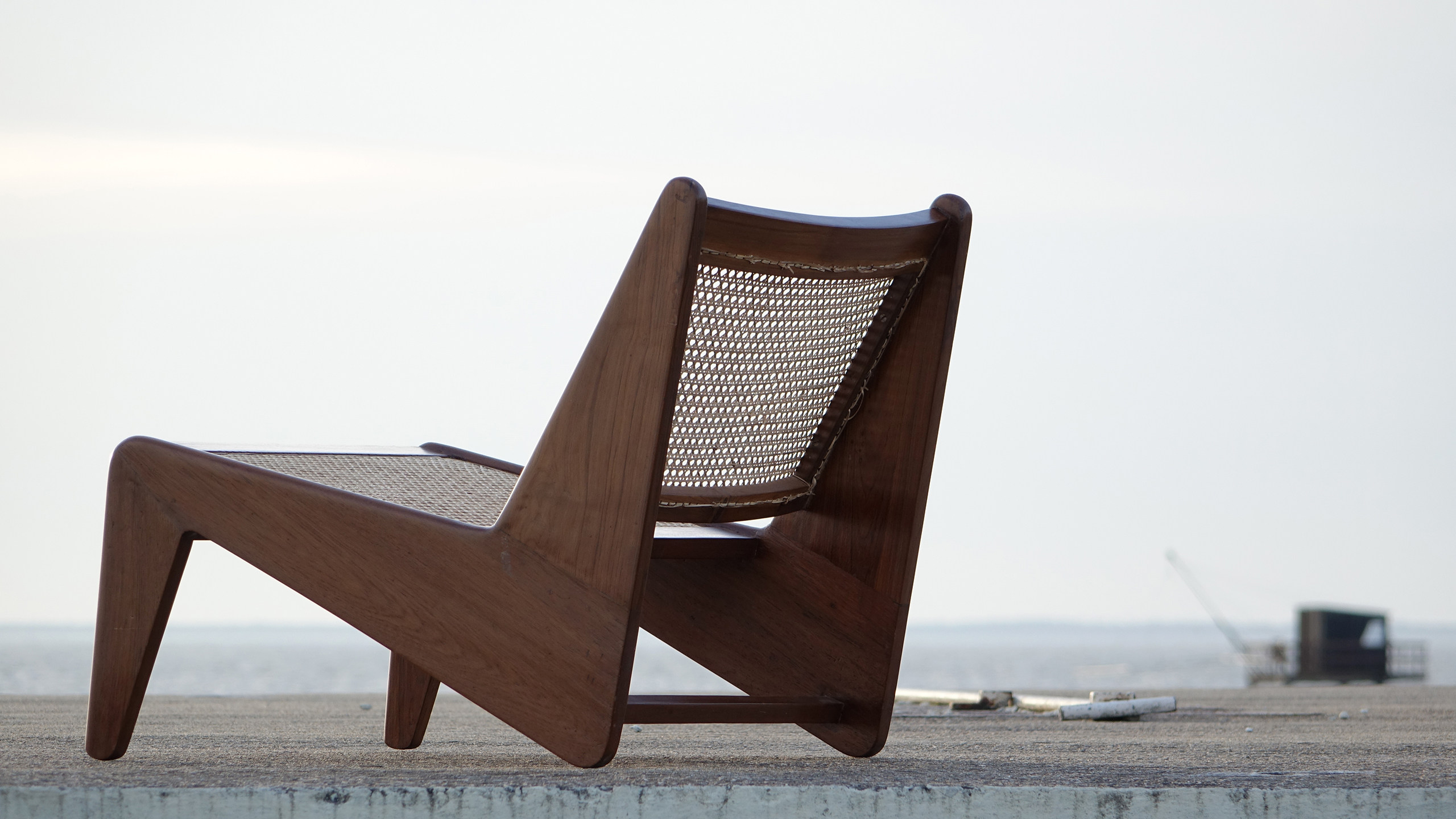 chair design by le corbusier galvanized steel chairs pierre jeanneret kangourou lounge chandigarh