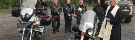 Lednica motocyklisty