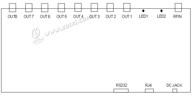 Intelligence Antenna Splitter:ZT-RY-909 (UHF RFID