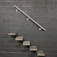 6, 7, or 8 foot EZ Wall Rail Steel Pipe (commercial style