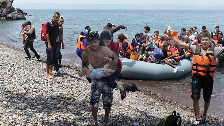 Νέες αφίξεις προσφύγων στα ελληνικά νησιά