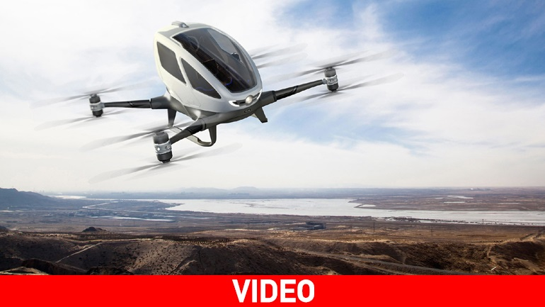 Το μέλλον στις... μετακινήσεις είναι ιπτάμενο!