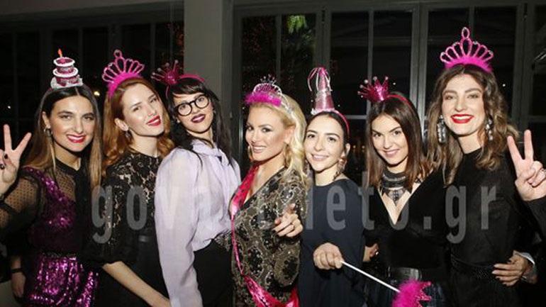 Το λαμπερό πάρτι γενεθλίων της Αλεξάνδρας Παναγιώταρου του «My Style Rocks»