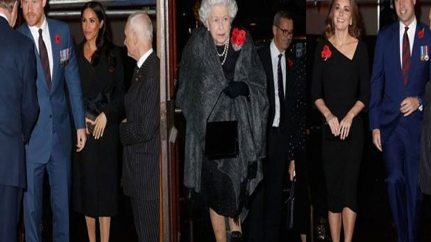 The royal family celebrated the death of the First World War