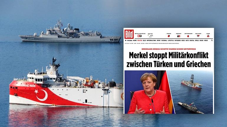 Η Μέρκελ απέτρεψε τη σύρραξη μεταξύ Ελλάδας και Τουρκίας