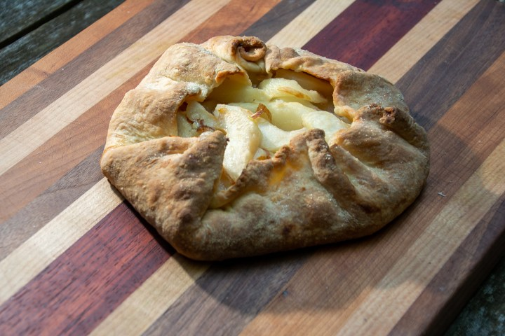 Baked pear gallete