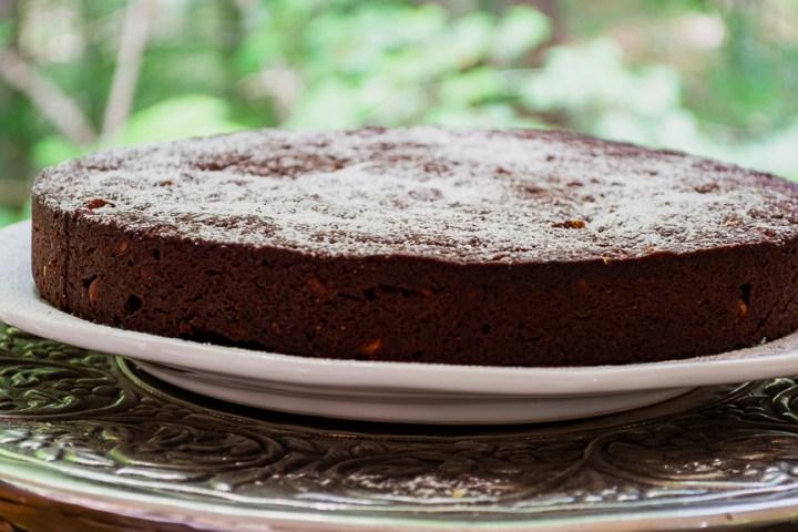 whole torta caprese