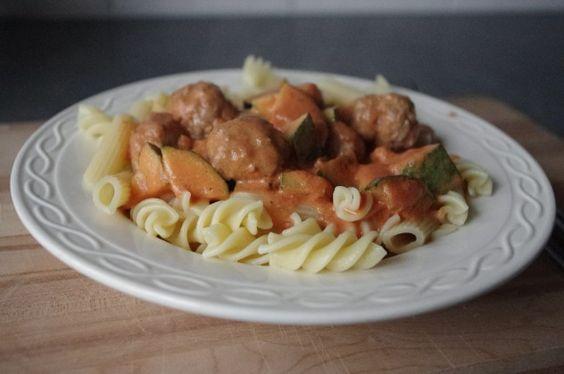 Italiaanse tomaten-mascarponesaus