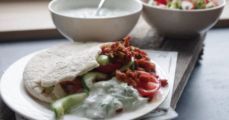 Gezonde fastfood: Griekse pita's