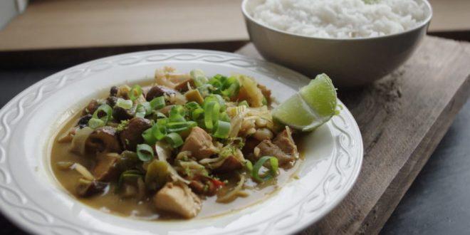 Thaise Tom Kha Kai
