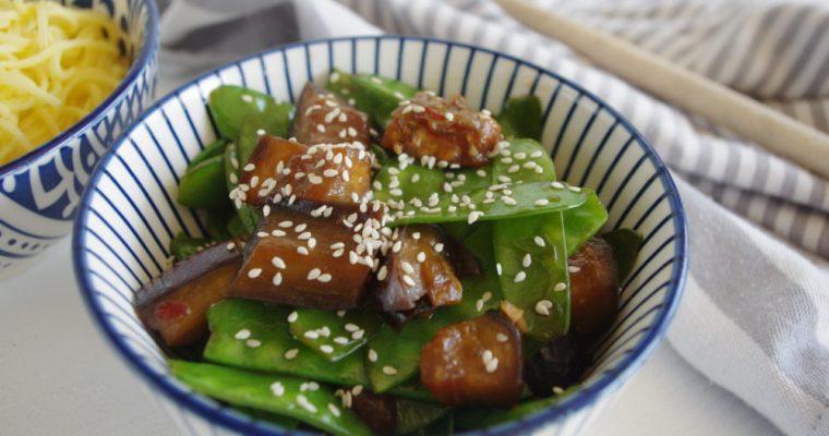 Oosterse aubergine met pit