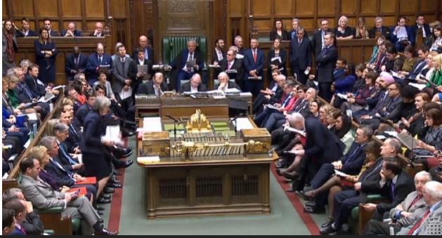 Парламентът на Великобритания гласува за отлагане на Брекзит