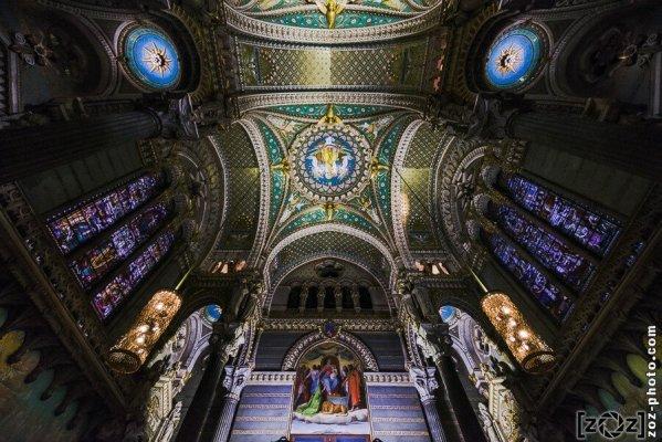 Basilique de Fourvière (Lyon), le 3 décembre 2013.