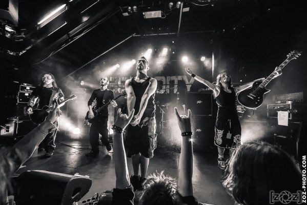 Absurdity, Brutale Coalition festival, Club du Transbordeur (Villeurbanne), le 28 février 2014.
