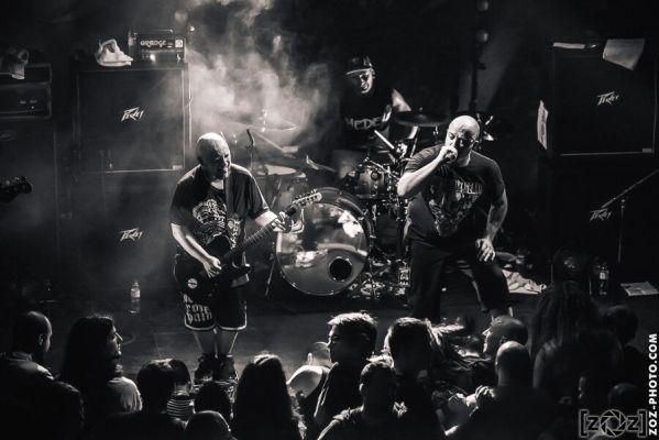Benighted, Brutale Coalition festival, Club du Transbordeur (Villeurbanne), le 28 février 2014.