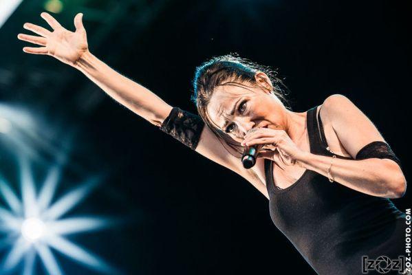 Kas Product, festival Musiques en stock (Cluses), le 5 juillet 2014.