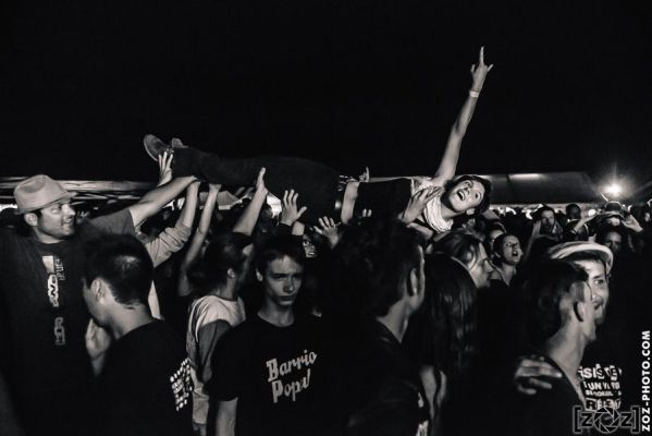 Océanne, festival Apiroknofobi, le 19 juillet 2014.